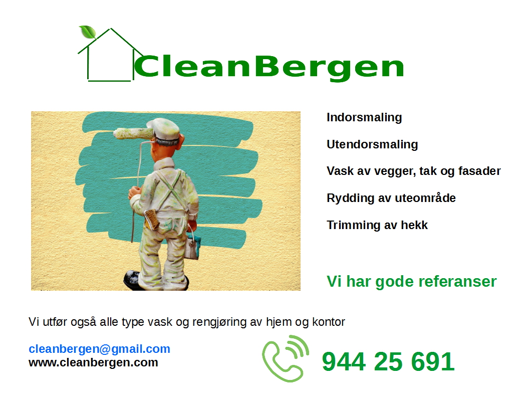 Cleanbergen maling service